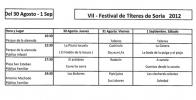 Actuaciones de Títeres en Soria