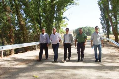 Visita de Diputación a la obra