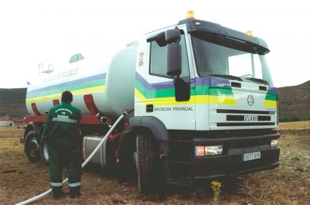 Camión cisterna de Diputación