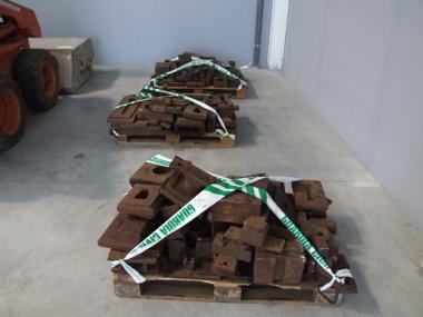 Moldes de acero recuperados