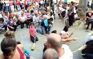 Baile de La Escoba en Osma