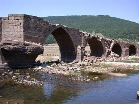 Imagen del puente romano de Vinuesa