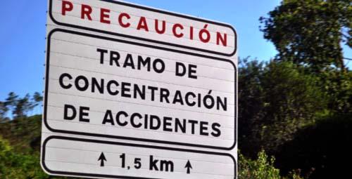 Señalización vial de peligro