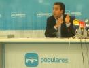 Ignacio Soria en rueda informativa