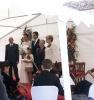 La novia, Yolanda Iriarte, pasó los veranos de su infancia en casa de los abuelos