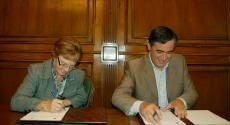 Berrojo y Pardo en la firma
