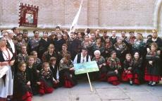 Comitiva soriana en Zaragoza
