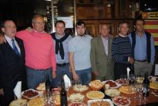 Bustillo, Villanueva, Cuartero, Luis Zornoza (Presidente), Canario, Rico y Aragón