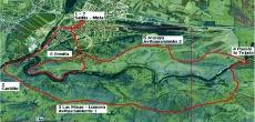 Mapa de la prueba burgense