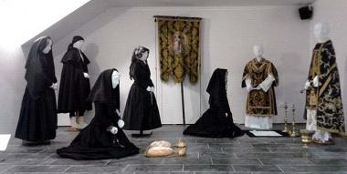Recreación para la Noche de las Ánimas en el Museo del Traje