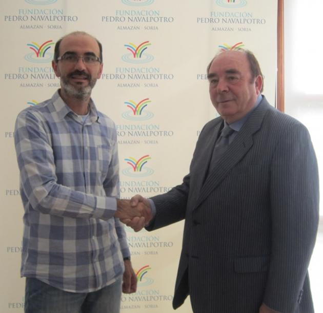 Juan Luis Morales Pte ONG y Pedro Navalpotro