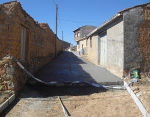 Obras en las calles oxomenses