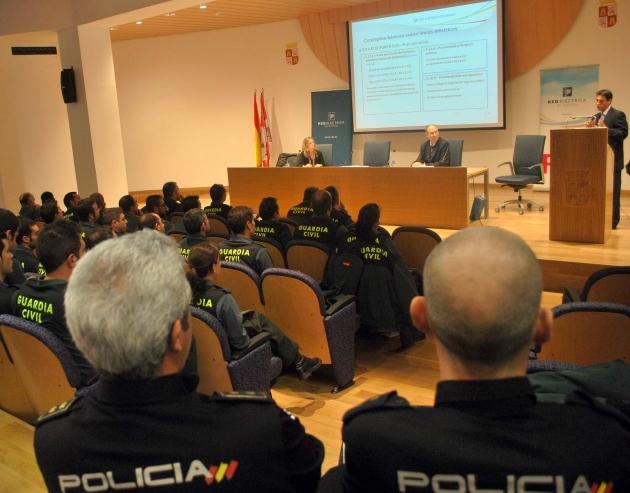 La Policía Nacional también ha estado presente en las enseñanzas