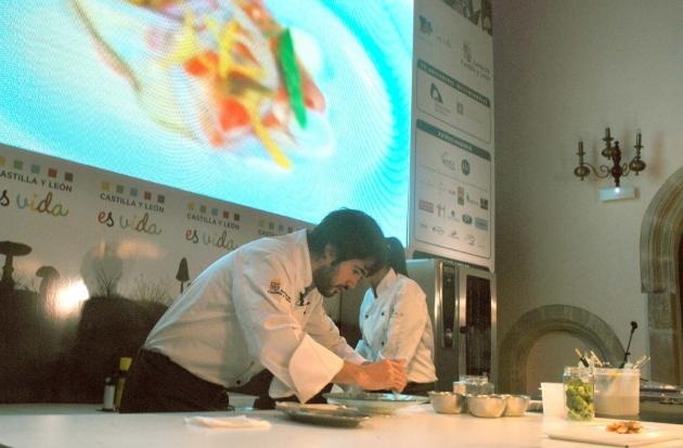 El Soriano Óscar García fue el último ponente del congreso gastronómico