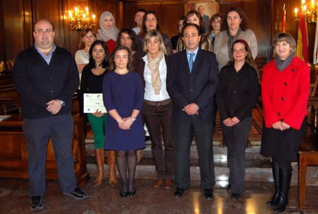 Foto tras la entrega de diplomas
