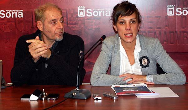 Muñiz (izda.) y Andrés