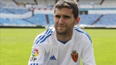 Antonio Tomás en su etapa en Zaragoza