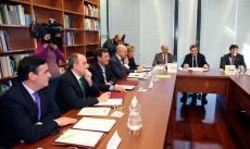 Firma del protocolo Diputaciones-Junta