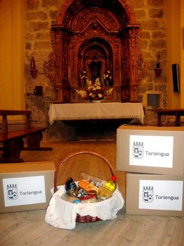 Alimentos donados por Torlengua
