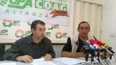 García (izda.) y Ramírez