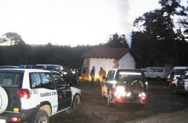 Desalojo en Pinar Grande