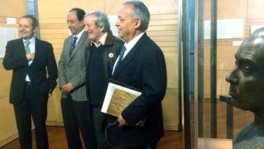 De derecha a izquierda, Bayo, López, Bárez y Santonja