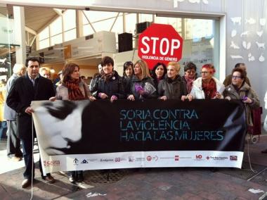 Acto contra la violencia de la mujer