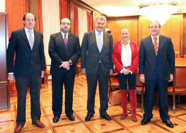 Marqués, Borra,Posada, Martínez y De Vicente