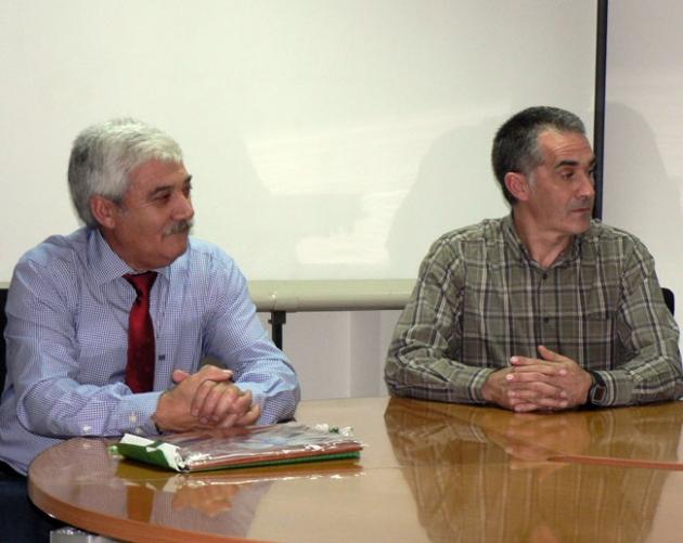Matías Gómez y Jesús Mata