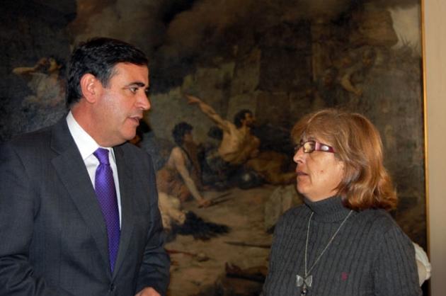 Antonio Pardo y Victoria Guijarro