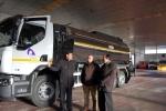 Nuevo camión de emulsión