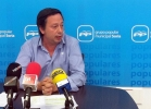 El concejal popular Adolfo Sainz