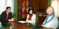 Pardo e Isla (ctro.) en la Diputación