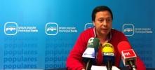 Adolfo Sainz en rueda de prensa