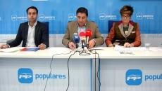 De izquierda a derecha, Soria, Peregrina y Benito