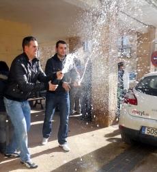 Dos jóvenes de Las Casas celebran el tercer premio