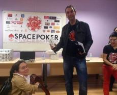 Esteras, ganador del I Aspace Póker
