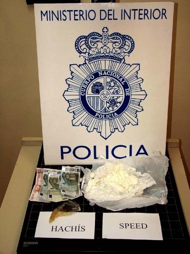 La droga incautada por la Policía