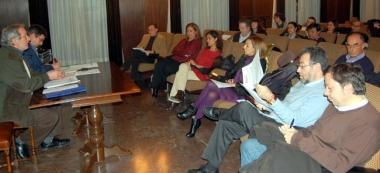 Imagen de la reunión de Cultura