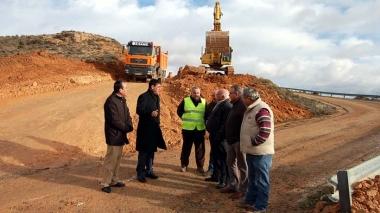 El presidente Pardo visita las obras