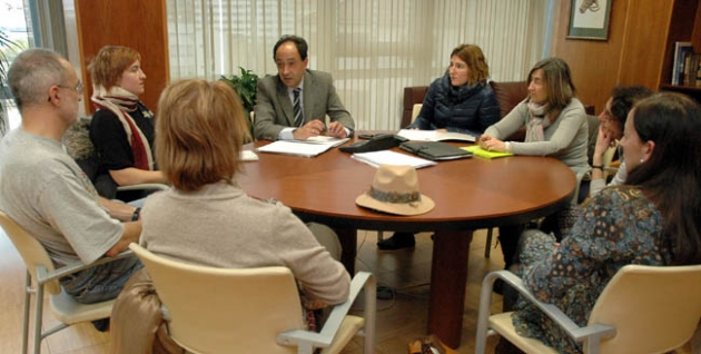 Reunión de AMPAS con el delegado