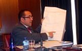 Luis Rey en rueda de prensa