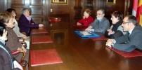 Reunión con responsables de Unicef de Soria y Castilla y León