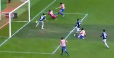Gol del empate de Bernardo