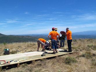Voluntarios medioambientales