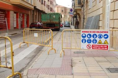 La calle está cerrada