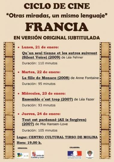 Cartel de las jornadas de cine