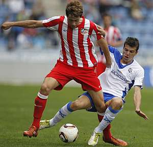 Pedro Martin con el Atlético de Madrid