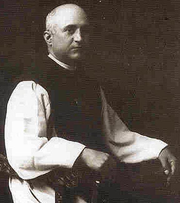 El padre Manuel Sanz