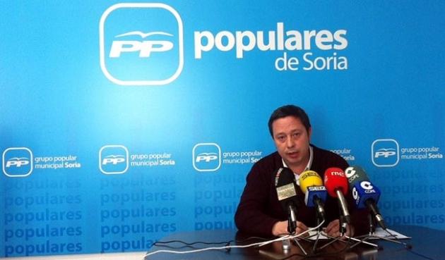 El concejal Adolfo Saínz